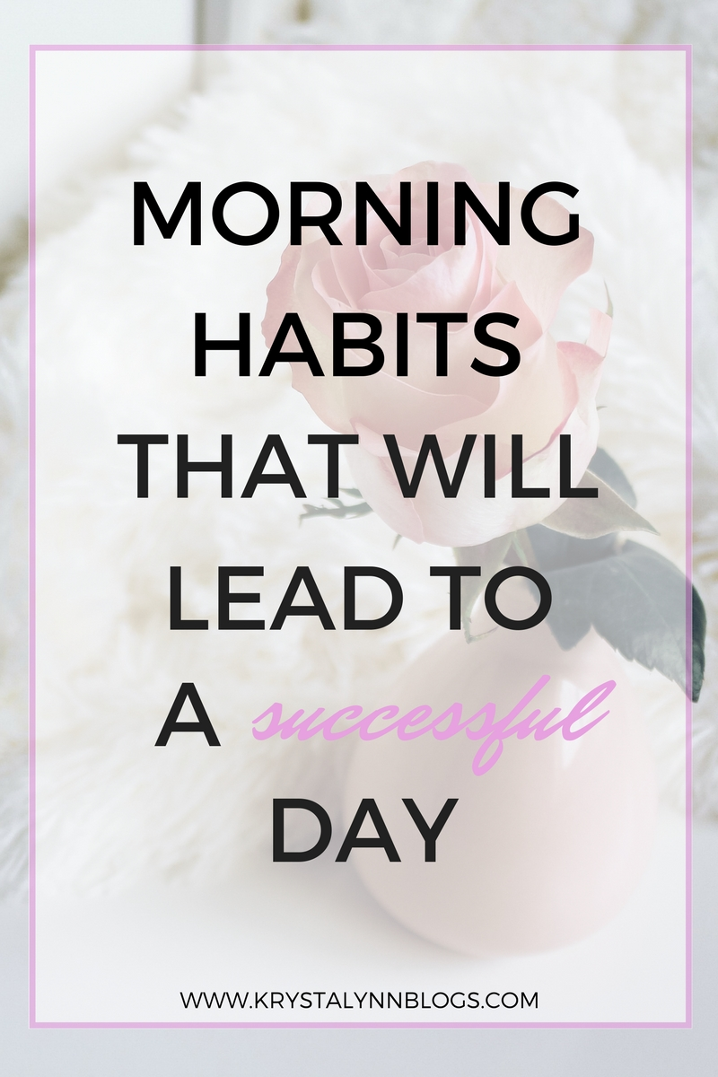The morning is the best time for you to be productive. When you start your day on a positive note, the rest of the day should follow suit.  Find out daily habits you can add to your morning routine that will lead to success!