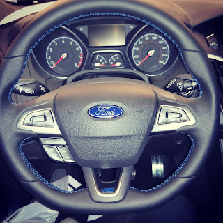 2016 Ford Focus RS steering wheel