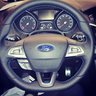 2016 Ford Focus RS steering wheel