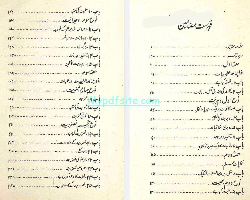 anwa-e-falsafa book