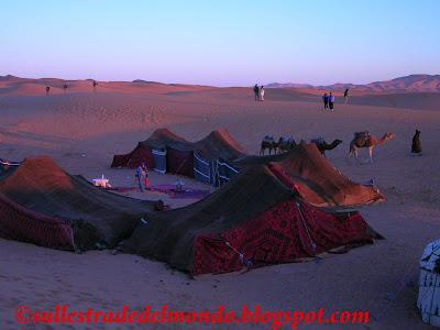campo tendato marocco