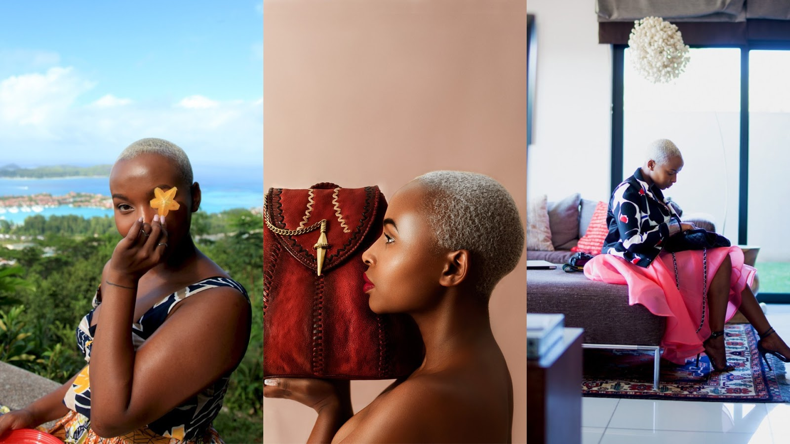A Bald Queen! Joy Kendi's Most Stunning Short Hair Looks