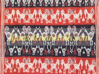 Kain Tenun Blanket Motif NTT dari Troso Jepara