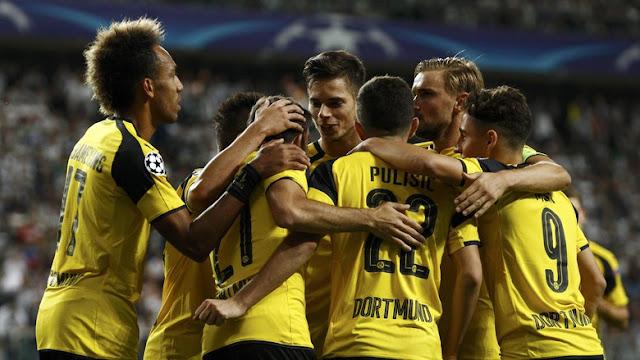 Efisien Manfaatkan Peluang-peluang Awal Jadi Kunci Pesta Gol Dortmund