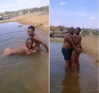 Hehe! See what Omotola Jalade was cavght doing with another man in bed (photos)