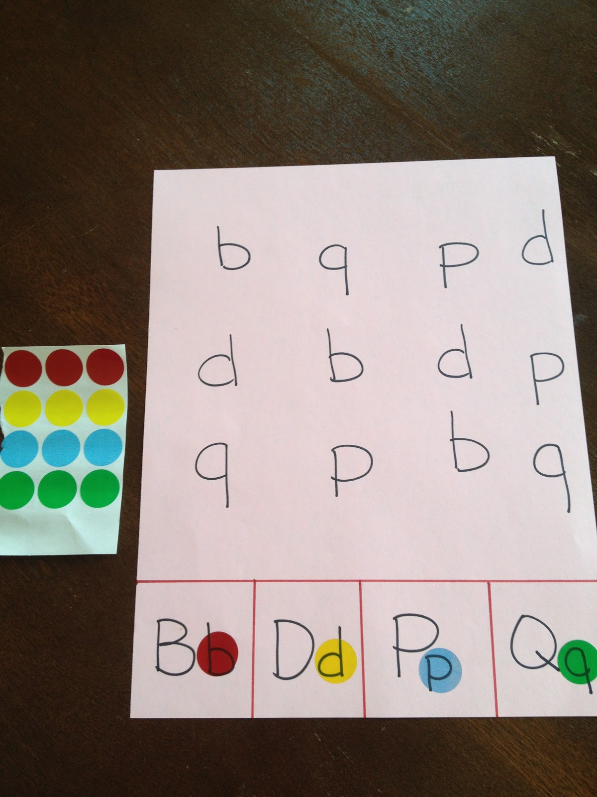 Two Much Fun B D P Q Identification Game And Assessment