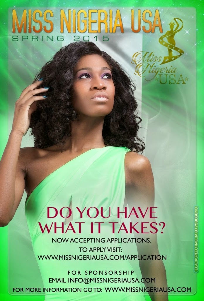 Apply To Be Miss Nigeria USA 2015: Application Now open ...