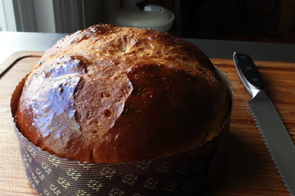 Panettone (Italian Christmas Bread) – Hard to Make, Or At Least That's What We're Telling People