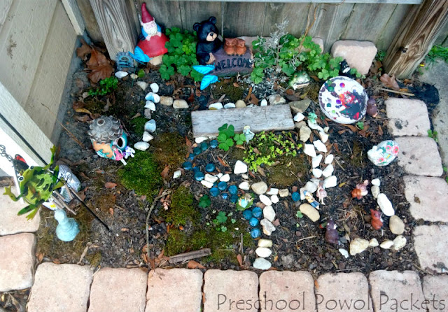 How to Make a Fairy Garden With Preschoolers Preschool Powol Packets