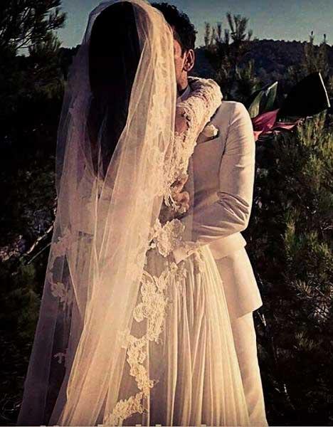 Véu do vestido Zuhair Murad