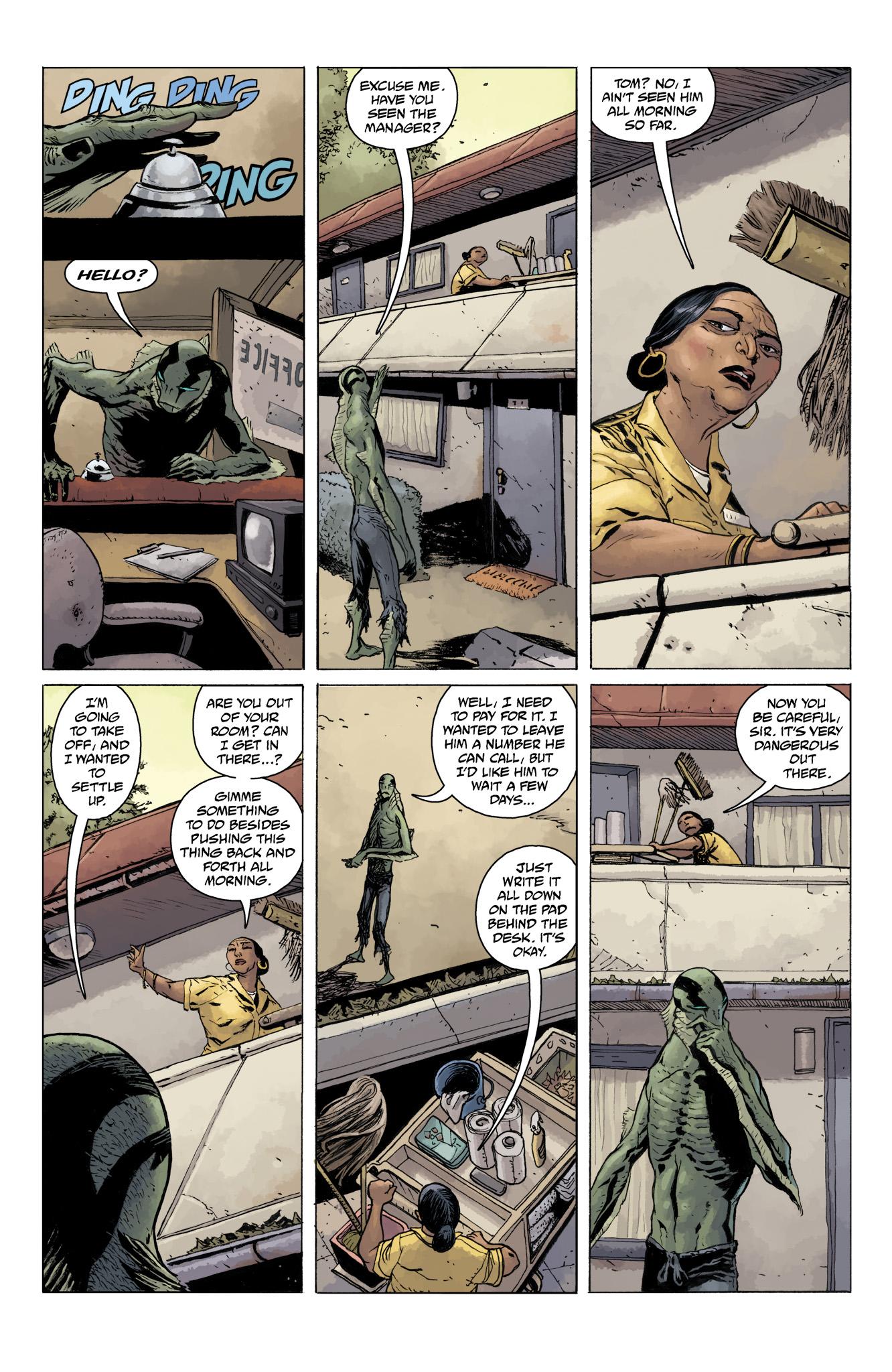 Read online Abe Sapien comic -  Issue #11 - 5