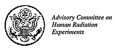 Advisory Committee on Human Radiation Experiments (ACHRE)