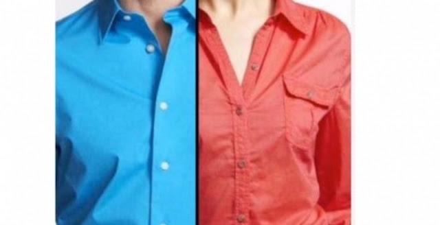 ما سر وجود أزرار قميص الرجال على جهة اليمين والنساء على اليسار ستستغرب من السبب