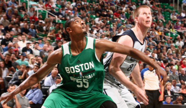 Jordan Mickey, ailier-fort des Boston Celtics