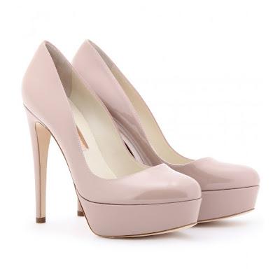 Zapatos blancos de fiesta