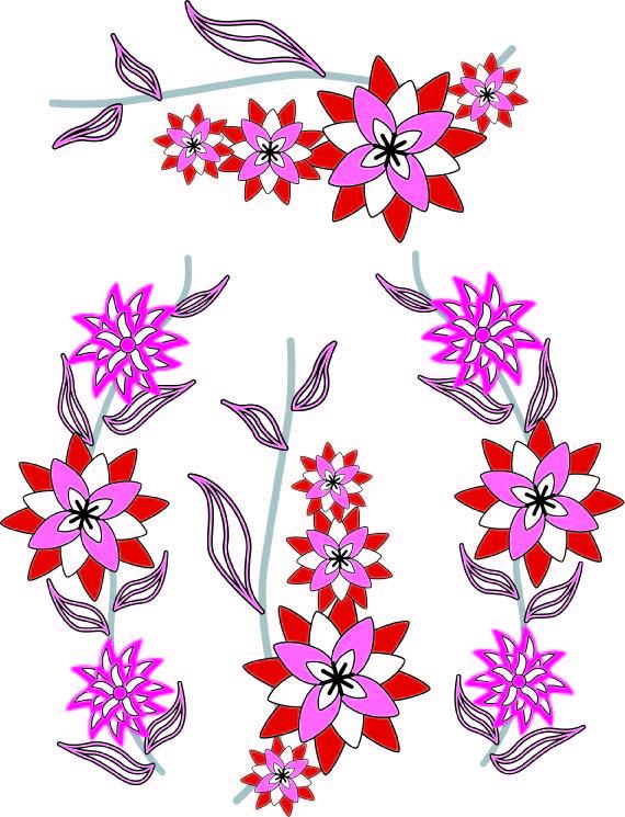 Corak Bunga Untuk Border Joy Studio Design Gallery