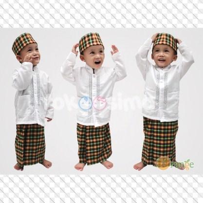 Model Baju Muslim Terbaru 2016 Untuk Anak Laki - Laki