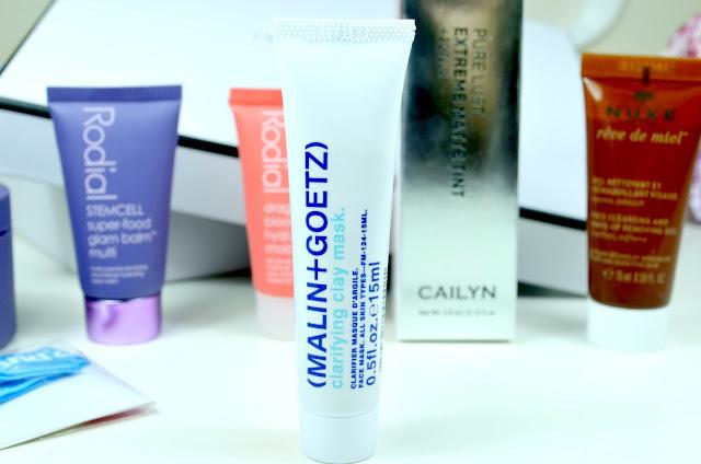Love Me Beauty - Beauty Box - Review - Rodial - stemcell - superboost - cleanser - galm balm - moistursier- popband - (malin+goetz) - facemask - cailyn - liquid lipstick