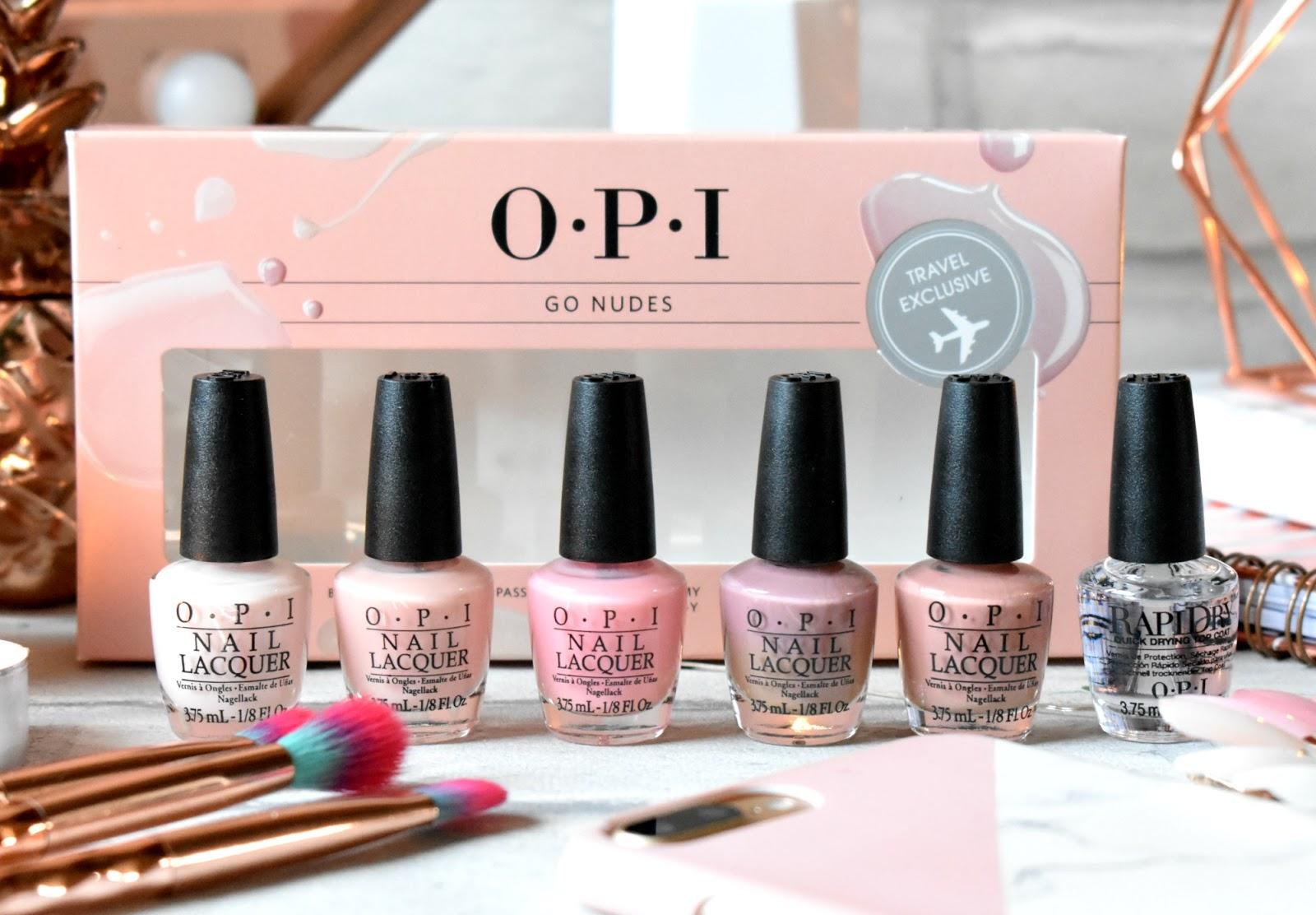HaySparkle: OPI Go Nudes Nail Polish Set