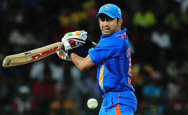 Gautam Gambhir retired for the first time at 37th