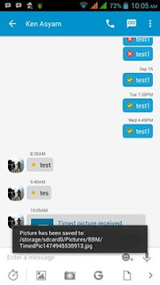 BBM Mod V3.0.1.25 With Save Timed Picture Apk