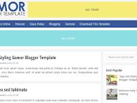 Vamor, Free Responsive Blogger Template (Update)