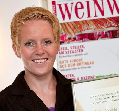 Winzerin Anette Closheim aus Langenlonsheim an der Nahe. #Nahe #Nahewein #MoToLogie #Closheim