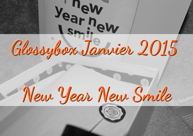 GlossyBox : New Year New Smile