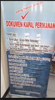 Cara Pengajuan Surat Ijin Berlayar Kapal Perikanan