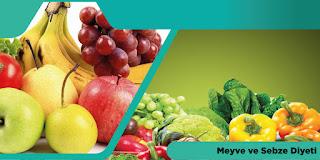 Meyve ve Sebze Diyeti