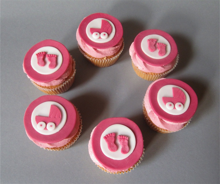 Babyshower Party Cupcakes