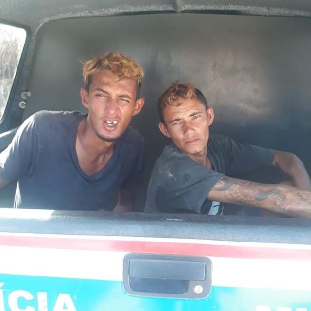 Polícia Militar prenede dois assaltantes perigosos na praia de Ajuruteua em Bragança