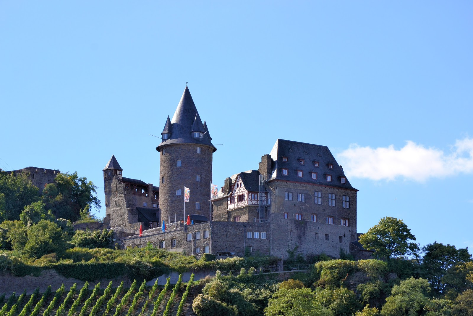 At first glance, Stahleck Castle conjures images of Hogwarts.