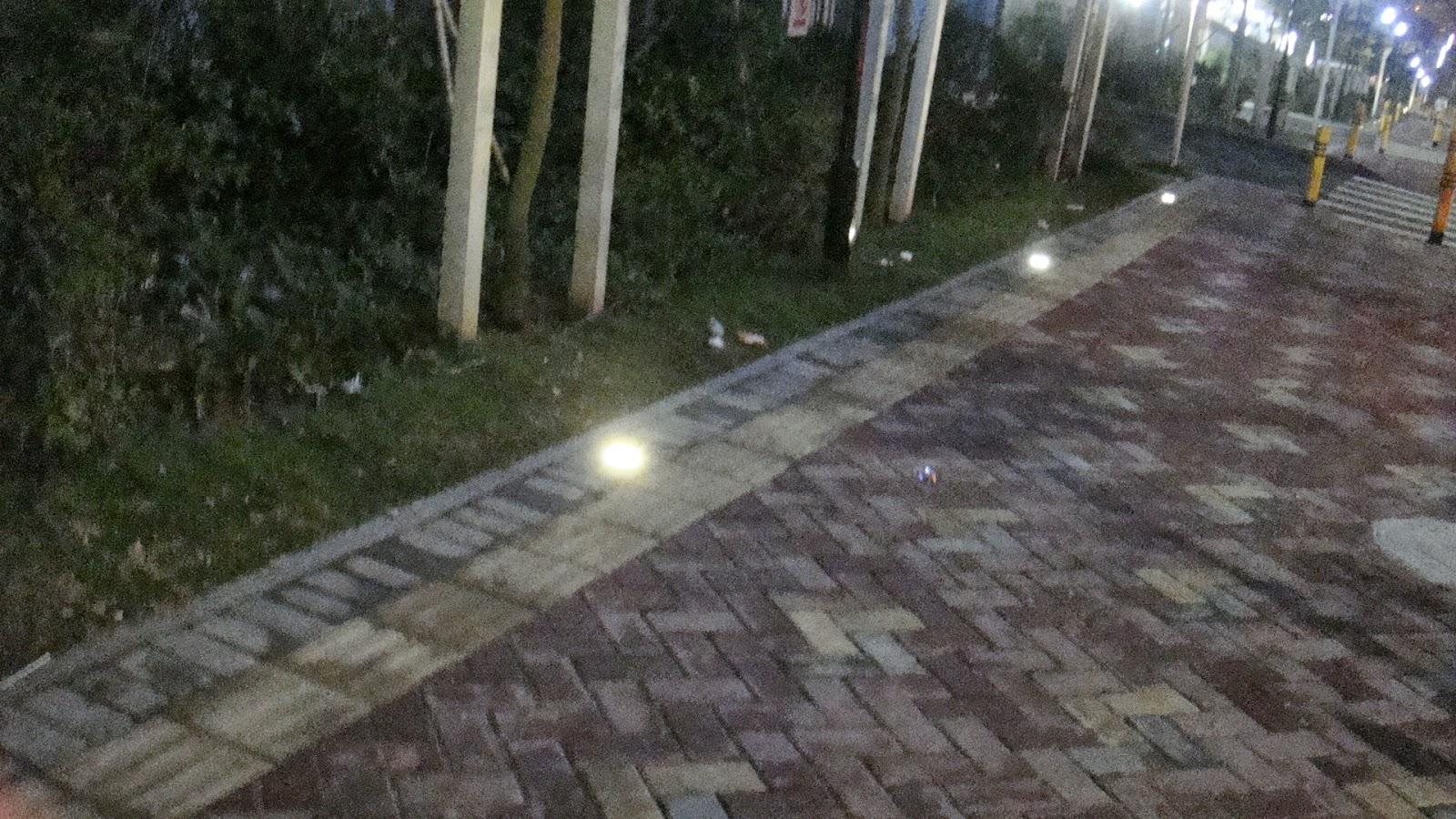 Faretto 12w incasso segnapasso pavimento faro giardino for Segnapassi a led