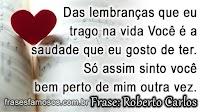 Frases de Musica de Roberto Carlos