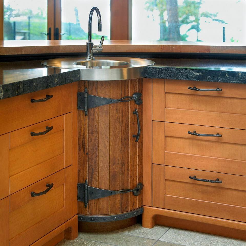 Una cocina campestre que hace olvidar la rutina diaria - Cocinas con ...
