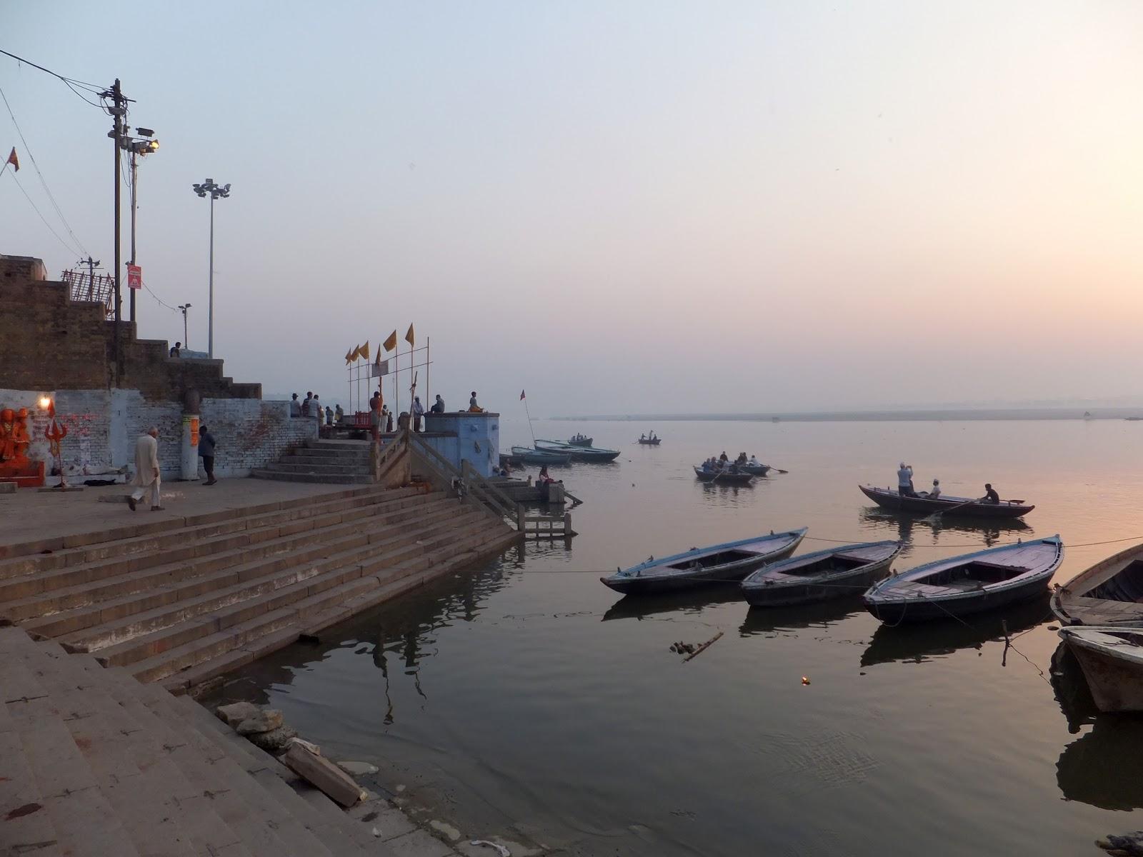 причал для лодок в Варанаси