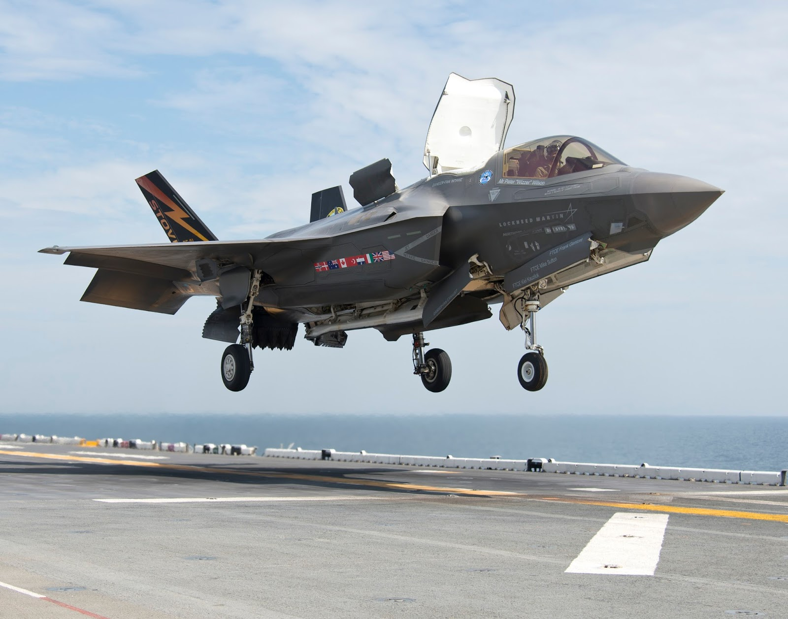 24200dea3a81 US Air Force remains confident about the Lockheed Martin F-35 ...