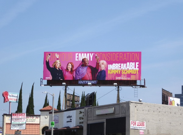Unbreakable Kimmy Schmidt 2016 Emmy 2016 billboard