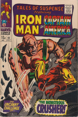 Tales of Suspense #91, Iron Man