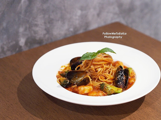 Picante Seafood Pasta RM 28