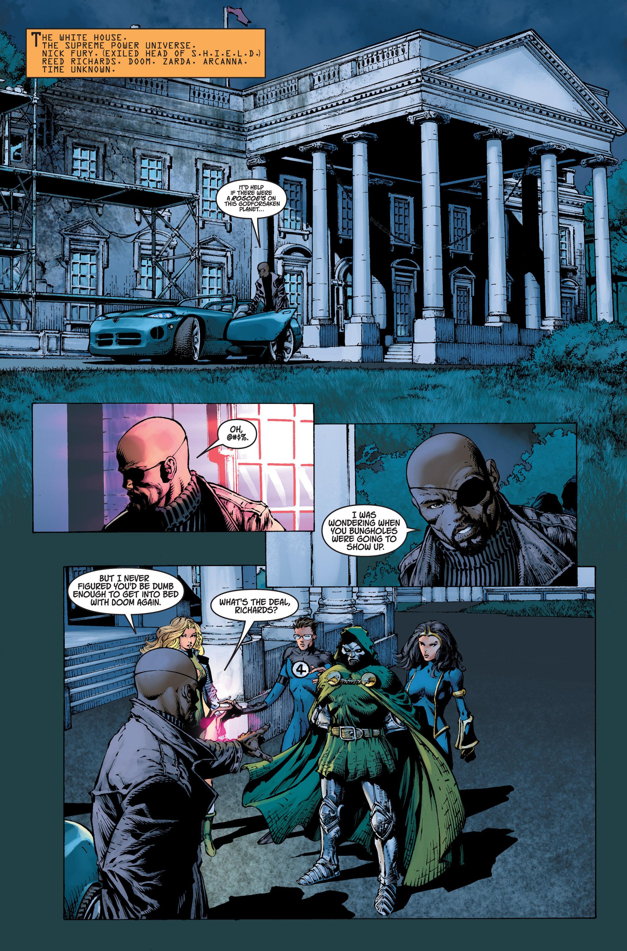 Read online Ultimatum comic -  Issue #4 - 11