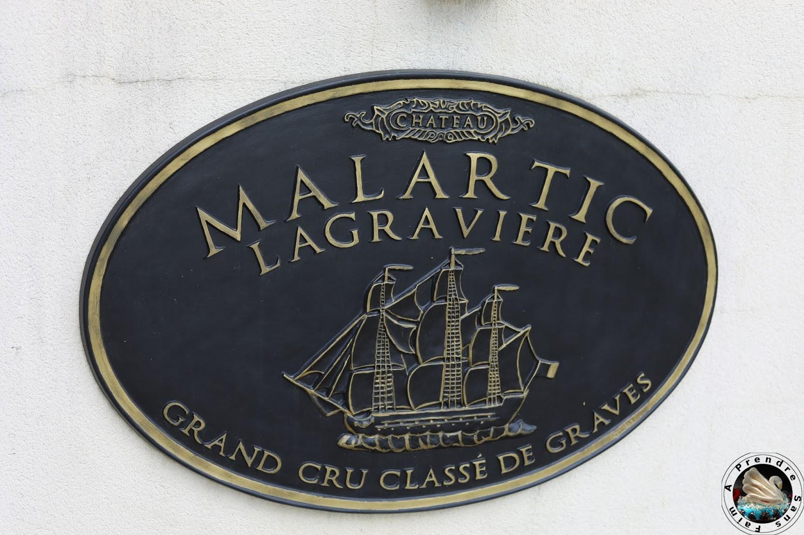 Visite et dégustations au Château Malartic- Lagravière