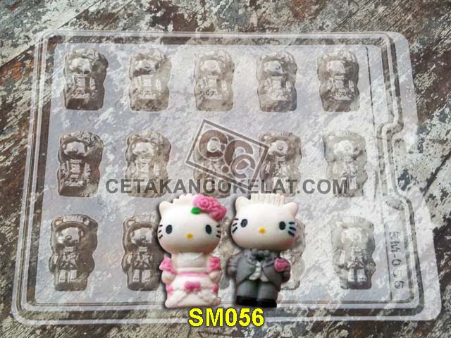 cetakan coklat cokelat SM56 SMB056 SM056 mold mould hello kitty sanrio chocolate #cetakancoklat