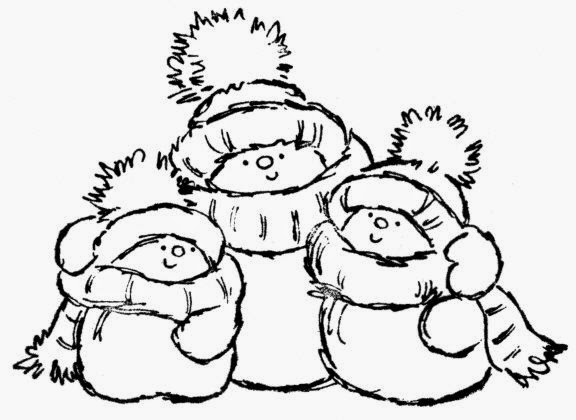 Christmas Coloring Pages Snowman - Eskayalitim