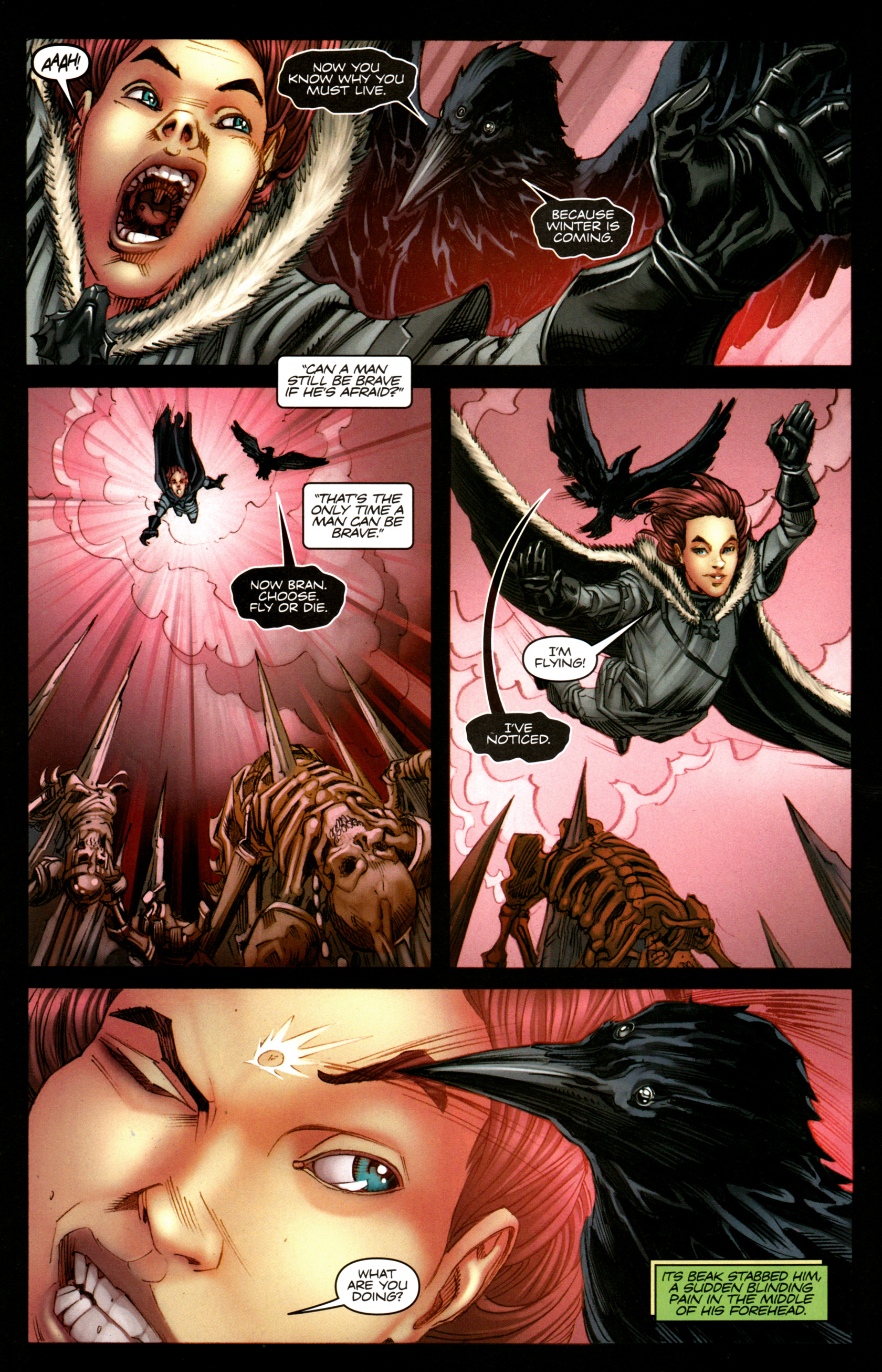 Read online A Game Of Thrones comic -  Issue #5 - 30