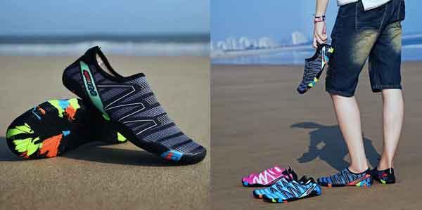 Sepatu Pantai Aqua Shoes Sepatu Fitness Sepatu Gym Sepatu Jogging Sepatu Diving Sepatu Renang