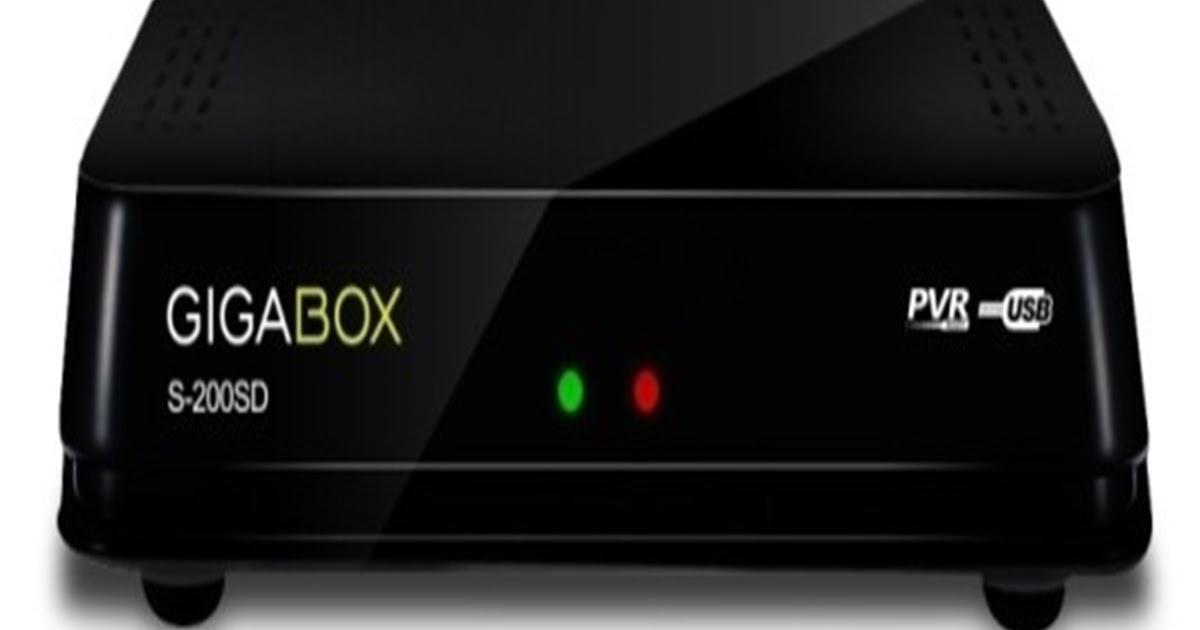 gigabox%2Bs200 - GIGABOX S200 SD NOVA ATUALIZAÇÃO V2.60 - 01/10/2017