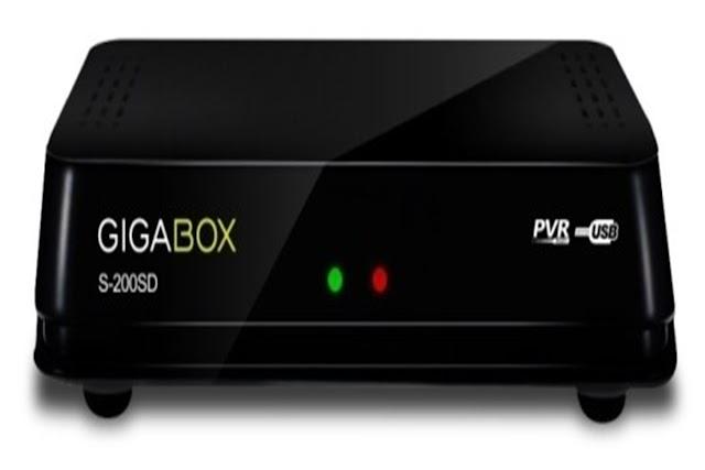 GIGABOX S200 SD NOVA ATUALIZAÇÃO V 2.68- 20/01/2018