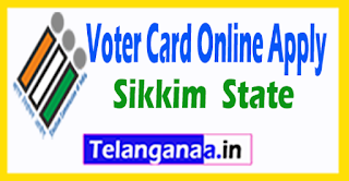 CEO Sikkim New Voter ID Card Online Registration
